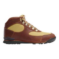 Women's Danner Jag 4.5in Hiking Boot Brown Full Grain Leather/Khaki Nylon