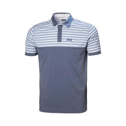2ac7926a Shop Men's Helly Hansen Fjord Polo Shirt Blue Mirage Stripe - Free Shipping  Today - Overstock - 15038213