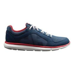 Men's Helly Hansen Ahiga V3 Hydropower Sailing Sneaker Navy/Flag Red/Off White