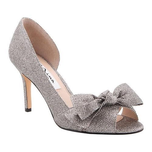 Shop Women s Nina Forbes2 D Orsay Pump Steel Dreamland Metallic Fabric - On  Sale - Free Shipping Today - Overstock.com - 15038352 0d57506b9a85
