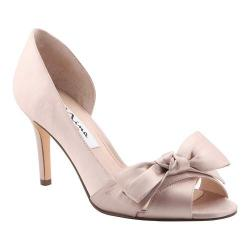 Women's Nina Forbes2 D'Orsay Pump Champagne Crystal Satin