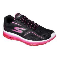 Women's Skechers GO Air 2 Trainer Black/Hot Pink