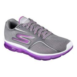 Women's Skechers GO Air 2 Trainer Gray/Purple