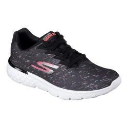 Women's Skechers GOrun 400 Instant Running Shoe Black/Pink
