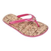 Women's Tidewater Sandals Sunset Flip Flop Pink/Gold