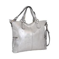 Women's Nino Bossi Abbey Satchel Silver