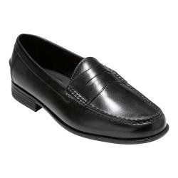 Men's Cole Haan Dustin II Penny Loafer Black Leather