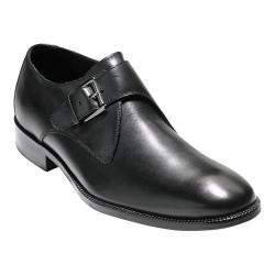 Men's Cole Haan Williams II Monk Strap Black Leather