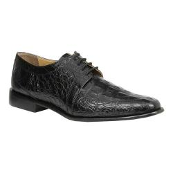 Men's Giorgio Brutini Heft Derby Shoe Black Croco Print Synthetic