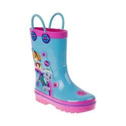 Girls' Josmo O-CH24545C Paw Patrol Rain Boot Light Blue/Pink