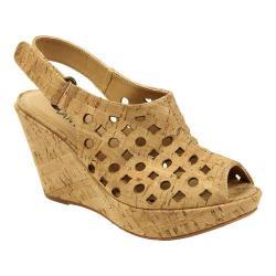Women's VANELi Elsie Wedge Sandal Natural Cork