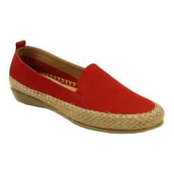 Women's VANELi Nadette Loafer Red Nabuk Leather