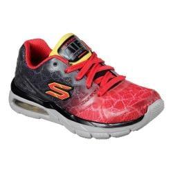 Boys' Skechers Air Advantage Sneaker Black/Red