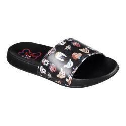 Women's Skechers BOBS 2nd Take Pup Smarts Slide Sandal Black
