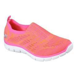 Women's Skechers Empire Inside Look Slip-On Sneaker Orange/Hot Pink