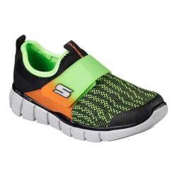 Boys' Skechers Equalizer 2.0 Power Move Sneaker Black/Lime