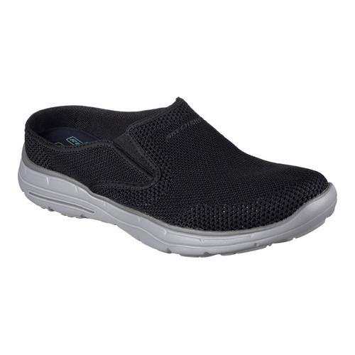 Shop Men s Skechers Relaxed Fit Glides Nosen Sneaker Clog Black - Free  Shipping On Orders Over  45 - - 15026135 d15cfea967