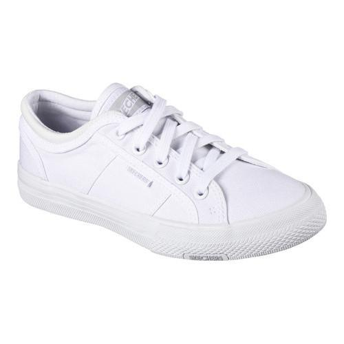 6e4ec5bc4ca0 Shop Women s Skechers Utopia Get Low Sneaker White - Free Shipping On  Orders Over  45 - Overstock - 15026173