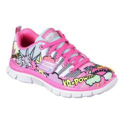 Girls' Skechers Skech Appeal Pop Pizazz Sneaker Neon/Pink/Multi