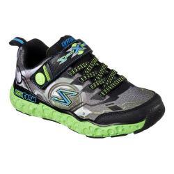 Boys' Skechers Skech X Cosmic Foam Futurist Sneaker Black/Lime