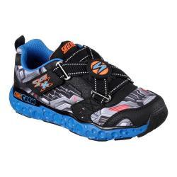 Boys' Skechers Skech X Cosmic Foam Portal-X Sneaker Black/Blue/Orange