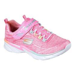 Girls' Skechers Swirly Girl Shimmer Time Slip-On Trainer Pink/Multi