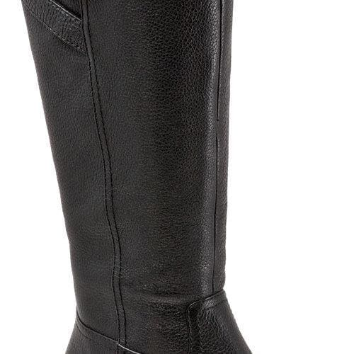 979fa2f0435eb Shop Women's Trotters Lyra Boot Black Leather - Free Shipping Today -  Overstock - 15026176