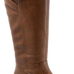 Women's Trotters Lyra Boot Cognac Leather