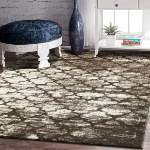 Porch & Den Kirkland Beige Indoor Area Rug - 5'2 x 7'2