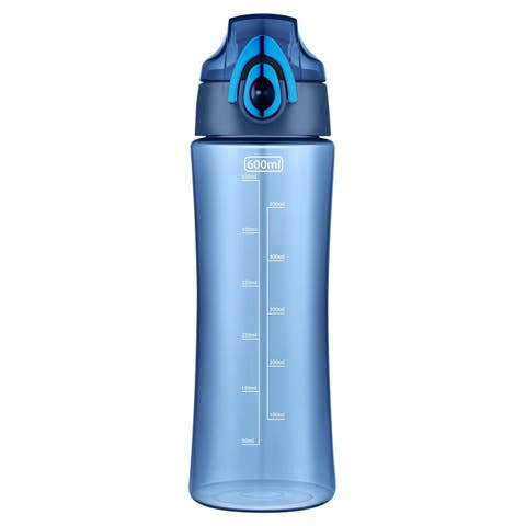 600ml Outdoor Water Bottle for Running, Walking, Gym, Yoga, Camping