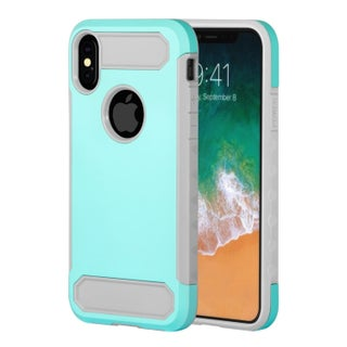 """Insten Dual Layer Hybrid Rubberized Protective Hard PC/ Silicone Case Cover for Apple iPhone XS/iPhone X 5.8"""" 5.8-inch"""