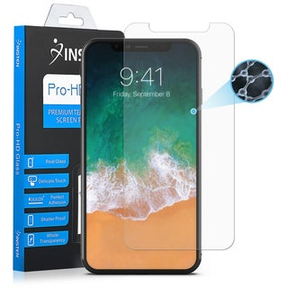 """Insten Clear Nano Tech Glass Full Coverage Anti-Ascratch Edge to Edge Screen Protector for Apple iPhone XS/ iPhone X 5.8"""""""