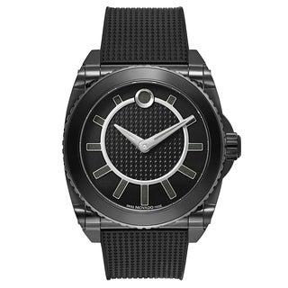 Movado Master 0606731 Men's Black Rubber Watch|https://ak1.ostkcdn.com/images/products/17907444/P24090372.jpg?_ostk_perf_=percv&impolicy=medium