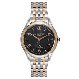 Baume and Mercier Clifton MOA10210 Men's Watch|https://ak1.ostkcdn.com/images/products/17907527/P24090433.jpg?impolicy=medium