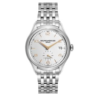 Baume and Mercier Clifton MOA10141 Men's Watch|https://ak1.ostkcdn.com/images/products/17907530/P24090370.jpg?impolicy=medium