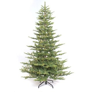 Link to Puleo International 6 1/2 ft. Pre-lit Aspen Green Fir Artificial Christmas Tree 500 UL listed Clear Lights Similar Items in Christmas Greenery