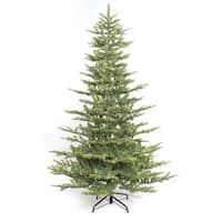 Puleo International 6 1/2 ft. Pre-lit Aspen Green Fir Artificial Christmas Tree 500 UL listed Clear Lights