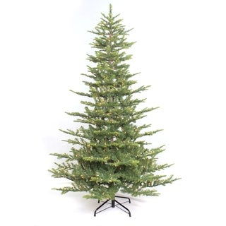 6 1/2 ft. Pre-lit Aspen Green Fir Artificial Christmas Tree 500 UL listed Clear Lights