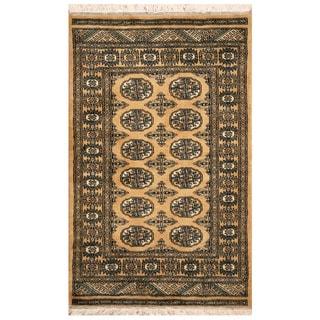 "Handmade Bokhara Wool Rug (Pakistan) - 2'6"" x 4'"