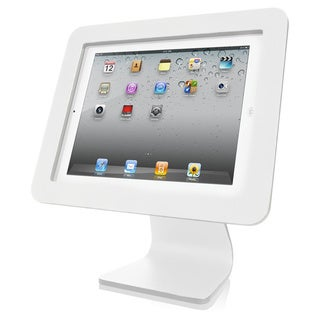 All in One- iPad Rotating and Swiveling Stand White (As Is Item)