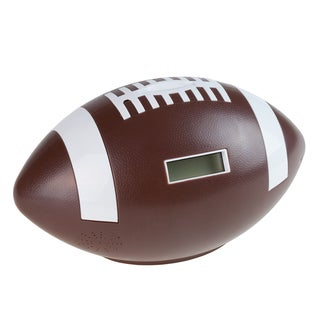 Hey! Play! Football Coin Counting and Saving Piggy Bank with Digital Counter