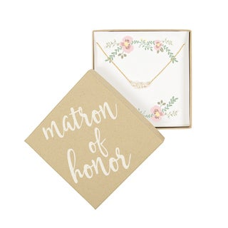 Matron of Honor Three Pearl Gold Bracelet