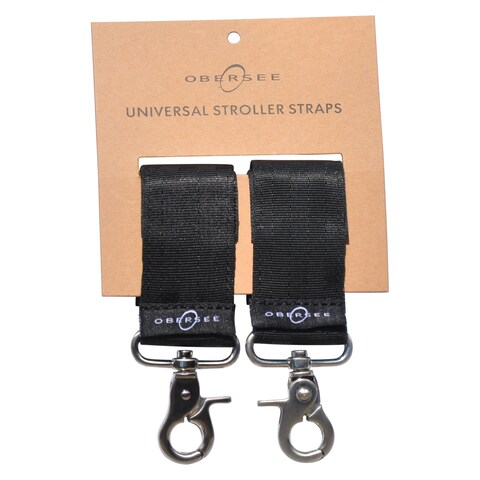 Obersee Universal Stroller Straps for Diaper Bags