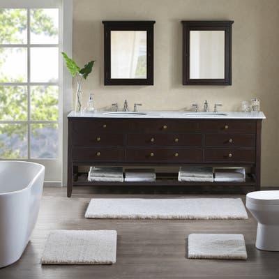 Madison Park Signature Majestic Solid Tufted Bath Rug