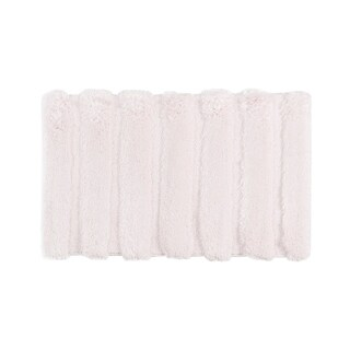 Madison Park Tufted Pearl Channel Solid Bath Rug