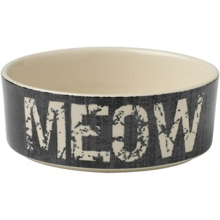 PetRageous Designs Bowl - Holds 2 Cups-Meow
