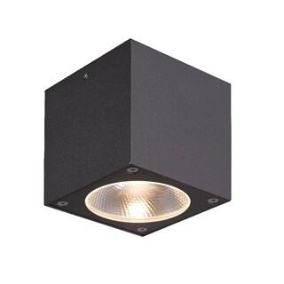 Eurofase Nest 1-Light LED Outdoor Flushmount, Graphite Grey Finish - 28286-028
