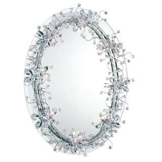 Eurofase Relic 8-Light Mirror, Chrome Finish