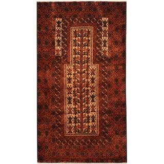 Handmade Balouchi Wool Rug (Afghanistan) - 2'10 x 5'1