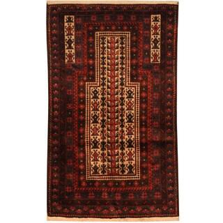 Handmade Balouchi Wool Rug (Afghanistan) - 2'9 x 4'7